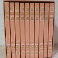 Tebeos: == HISTORIAS COLOR - COLECCION AQUELLAS MUJERCITAS - 10 TOMOS EN SU ESTUCHE - 1ª EDICION 1973. Lote 174688934