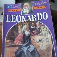 Tebeos: TEBEOS-CÓMICS CANDY - COMIC BIOGRAFÍAS 4 - LEONARDO DA VINCI - AA99. Lote 174958118