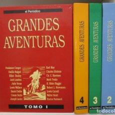 Tebeos: COLECCION COMPLETA JOYAS LITERARIAS - 4 TOMOS - 95 EJEMPLARES - BRUGUERA / EL PERIODICO. Lote 189349767