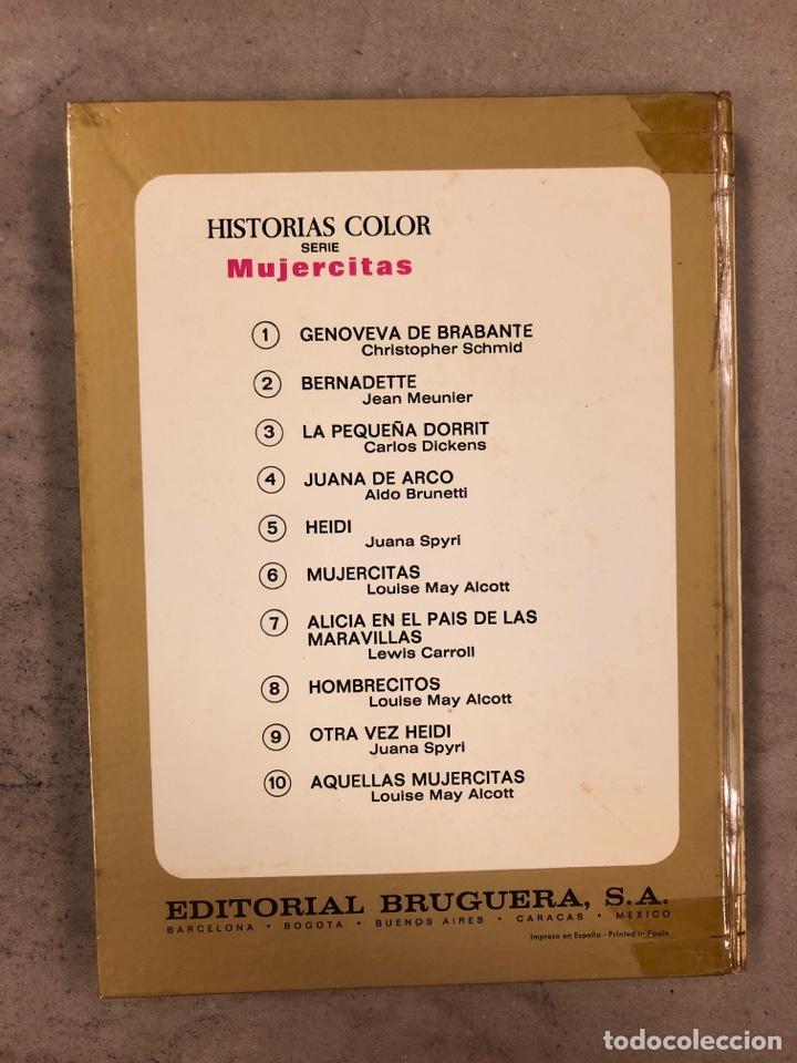 Tebeos: COLECCIÓN HISTORIAS DE COLOR, SERIE MUJERCITAS N° 1, 3,4, 5 y 8. EDITORIAL BRUGUERA. - Foto 7 - 174984449