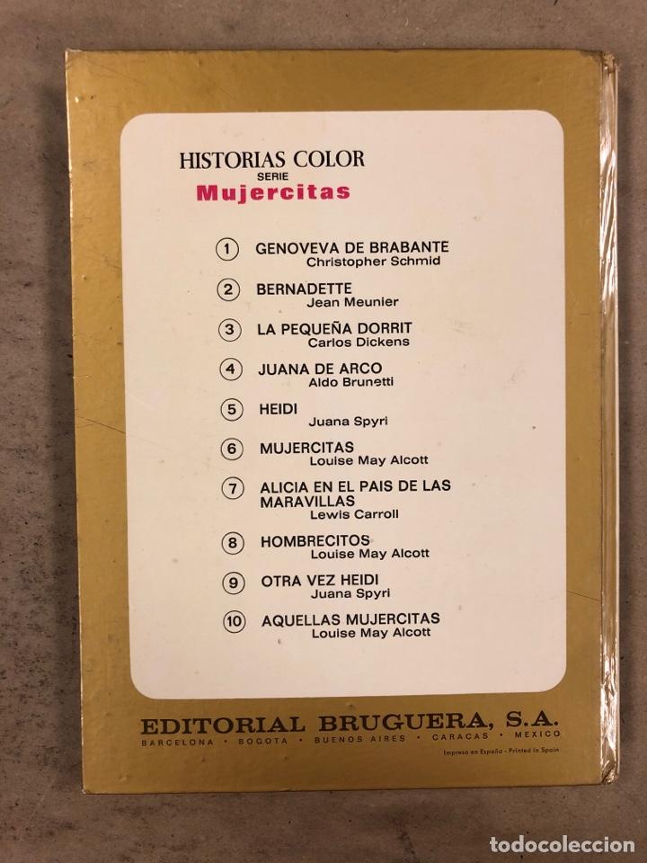 Tebeos: COLECCIÓN HISTORIAS DE COLOR, SERIE MUJERCITAS N° 1, 3,4, 5 y 8. EDITORIAL BRUGUERA. - Foto 12 - 174984449