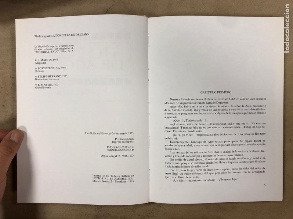 Tebeos: COLECCIÓN HISTORIAS DE COLOR, SERIE MUJERCITAS N° 1, 3,4, 5 y 8. EDITORIAL BRUGUERA. - Foto 16 - 174984449