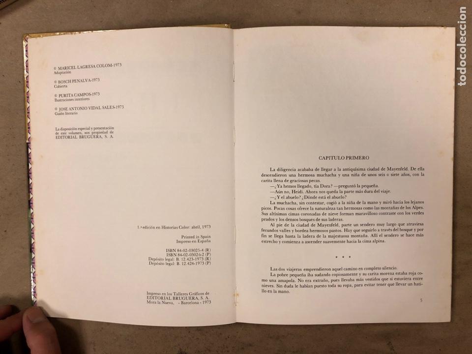 Tebeos: COLECCIÓN HISTORIAS DE COLOR, SERIE MUJERCITAS N° 1, 3,4, 5 y 8. EDITORIAL BRUGUERA. - Foto 21 - 174984449