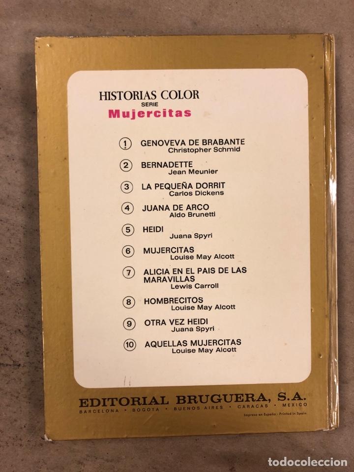 Tebeos: COLECCIÓN HISTORIAS DE COLOR, SERIE MUJERCITAS N° 1, 3,4, 5 y 8. EDITORIAL BRUGUERA. - Foto 23 - 174984449