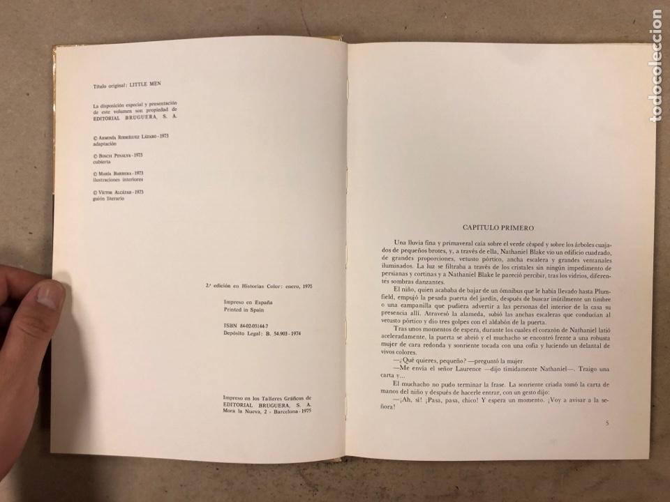 Tebeos: COLECCIÓN HISTORIAS DE COLOR, SERIE MUJERCITAS N° 1, 3,4, 5 y 8. EDITORIAL BRUGUERA. - Foto 26 - 174984449