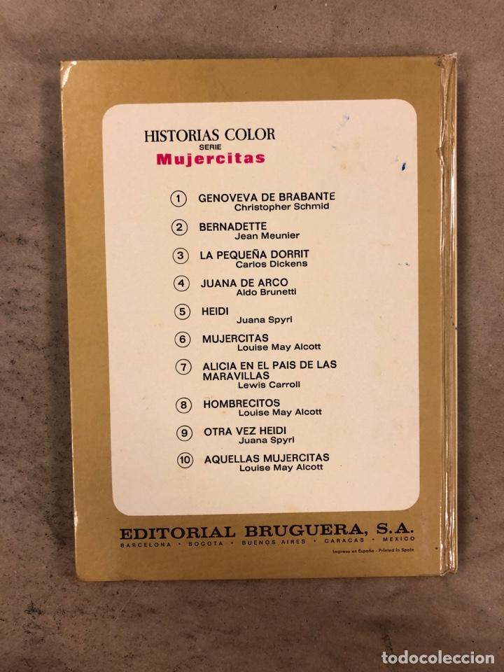 Tebeos: COLECCIÓN HISTORIAS DE COLOR, SERIE MUJERCITAS N° 1, 3,4, 5 y 8. EDITORIAL BRUGUERA. - Foto 28 - 174984449