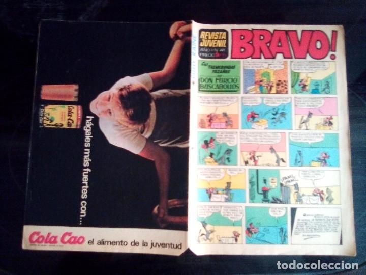 Tebeos: BRAVO - REVISTA JUVENIL- Nº 41 -AQUILES TALÓN-PITHY RAINE-PÁGINAS CLÁSICAS-1968-BUENO-DIFÍCIL-2391 - Foto 2 - 183853816