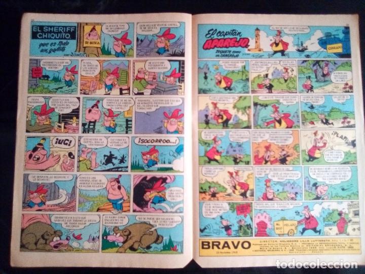 Tebeos: BRAVO - REVISTA JUVENIL- Nº 41 -AQUILES TALÓN-PITHY RAINE-PÁGINAS CLÁSICAS-1968-BUENO-DIFÍCIL-2391 - Foto 4 - 183853816