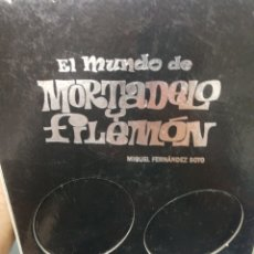 BDs: MIGUEL FETNANDEZ SOTO. EL MUNDO DE MORTADELO Y FILEMON. Lote 175004819