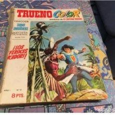 Tebeos: CAPITAN TRUENO 1ª EPOCA ENCUADERNADO DEL 2 AL 20 LEER DESCRIPCION Y FOTOS. Lote 175047302