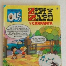 Tebeos: ZIPI Y ZAPE Y CARPANTA - COLECCION OLE - Nº 210 - AÑO 1986 . Lote 175062568