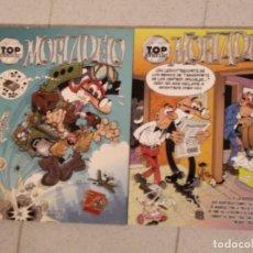 Tebeos: COMICS MORTADELO Y FILEMON.TOP COMIC 27 Y 56. Lote 175189717