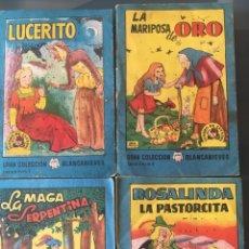 Tebeos: TESORO DE CUENTOS EDITORIAL BRUGUERA-GRAN COLECCIÓN BLANCANIEVES-SERIE 6, Nº 1,4,5,8. Lote 175209662