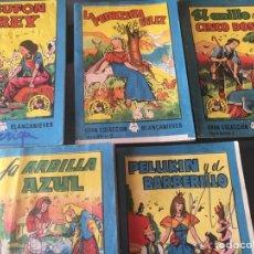 Tebeos: TESORO DE CUENTOS EDITORIAL BRUGUERA-GRAN COLECCIÓN BLANCANIEVES-SERIE 7 Nº 7 Y SERIE 8 Nº 2,5,7,8. Lote 175210404