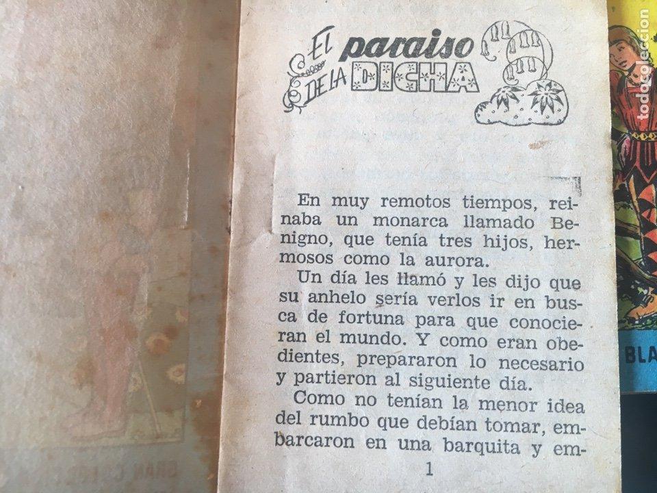 Tebeos: TESORO DE CUENTOS EDITORIAL BRUGUERA-GRAN COLECCIÓN BLANCANIEVES-SERIE 9 Nº 1,3,7 - Foto 3 - 175210920