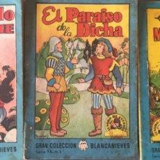 Tebeos: TESORO DE CUENTOS EDITORIAL BRUGUERA-GRAN COLECCIÓN BLANCANIEVES-SERIE 9 Nº 1,3,7. Lote 175210920