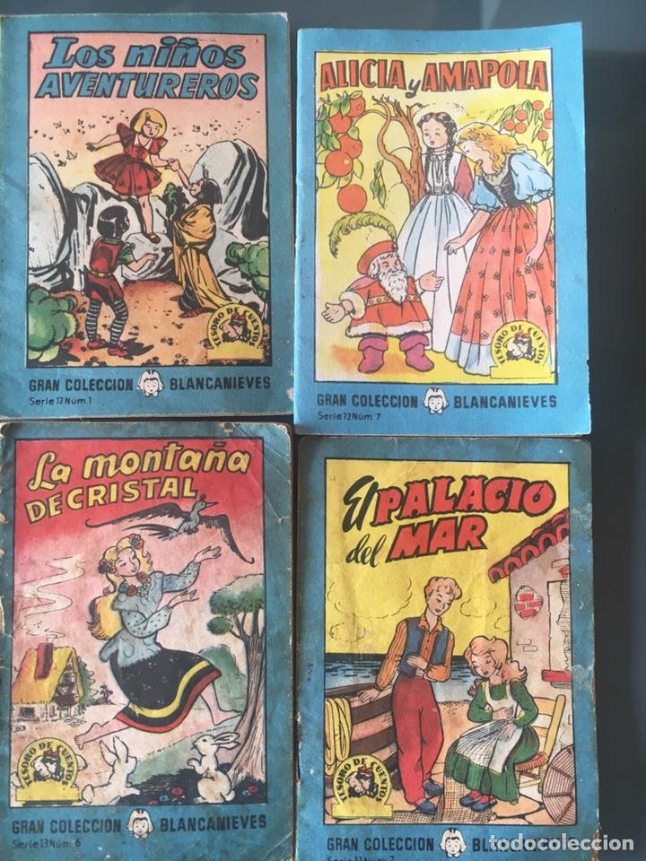 TESORO DE CUENTOS EDITORIAL BRUGUERA-GRAN COLECCIÓN BLANCANIEVES-SERIE 12 Nº 1,7 SERIE 13 Nº 6,7 (Tebeos y Comics - Bruguera - Cuadernillos Varios)