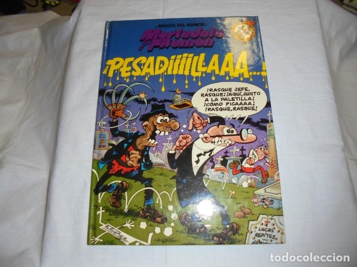 MAGOS DEL HUMOR.MORTADELO Y FILEMON.PESADILLA.- Nº 58- TAPA DURA 1ª EDICIÓN 1994 (Tebeos y Comics - Bruguera - Otros)