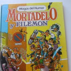 Livros de Banda Desenhada: MAGOS DEL HUMOR Nº 2 MORTADELO 1ª ED. BRUGUERA 1984 CONTRA EL GANG DEL CHICHARRÓN. CX22. Lote 175278362