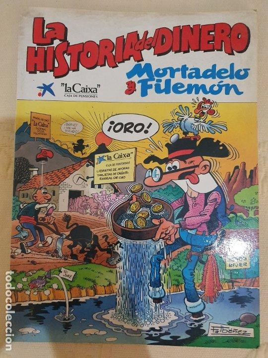 MORTADELO Y FILEMON. LA HISTORIA DEL DINERO (Tebeos y Comics - Bruguera - Mortadelo)
