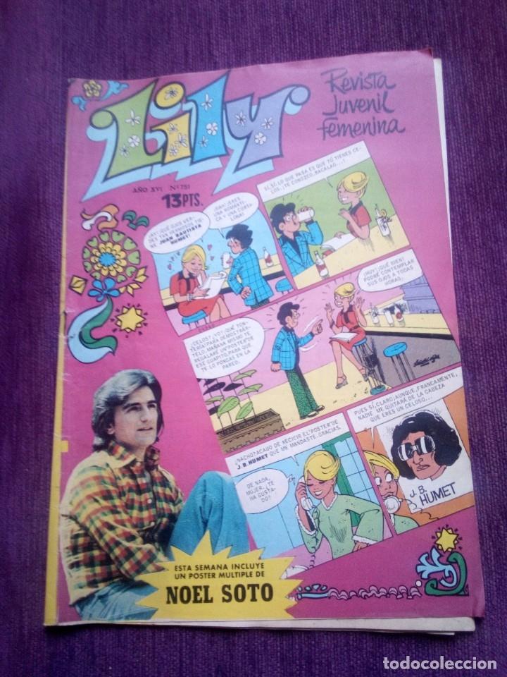 LILY 751 Z (Tebeos y Comics - Bruguera - Lily)