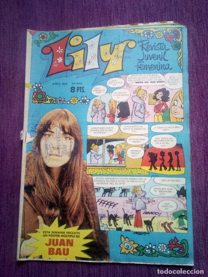 LILY 640 Z (Tebeos y Comics - Bruguera - Lily)