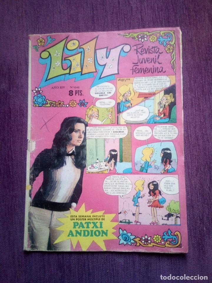 LILY 646 Z (Tebeos y Comics - Bruguera - Lily)