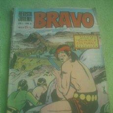 Tebeos: REVISTA JUVENIL BRAVO AÑO I Nº 8 BRUGUERA 1968 . Lote 175463233