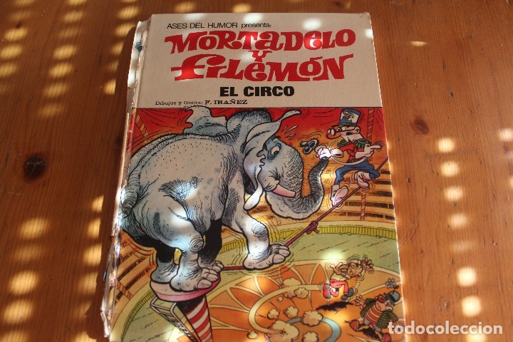 MORTADELO Y FILEMON TIENE EL LOMO ROTO (Tebeos y Comics - Bruguera - Mortadelo)