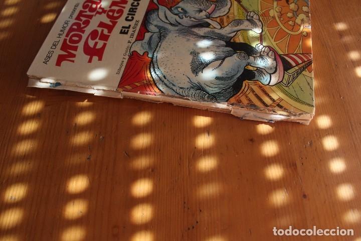Tebeos: MORTADELO Y FILEMON TIENE EL LOMO ROTO - Foto 2 - 175475084
