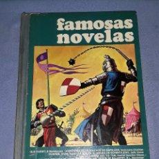Tebeos: BRUGUERA FAMOSAS NOVELAS TOMO 2 2ª EDICION AÑO 1977 VER FOTOS Y DESCRIPCION. Lote 175476754