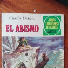 Tebeos: JOYAS LITERARIAS JUVENILES. Nº 218. EL ABISMO. BRUGUERA . Lote 175495289