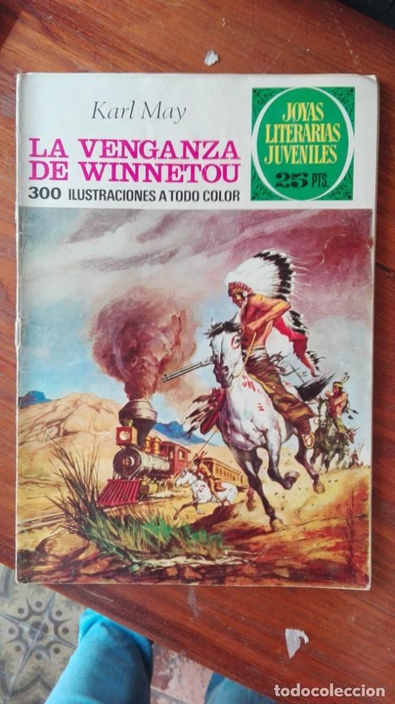 JOYAS LITERARIAS JUVENILES. Nº 173. LA VENGANZA DE WINNETOU. BRUGUERA (Tebeos y Comics - Bruguera - Joyas Literarias)