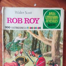 Tebeos: JOYAS LITERARIAS JUVENILES - Nº 11 - ROB ROY - BRUGUERA. Lote 175495899