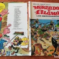 Tebeos: ASES DEL HUMOR BRUGUERA 1ª EDICIÓN - Nº 40 - LOS MERCENARIOS - MUY BUENO. Lote 175507737