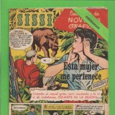 Tebeos: SISSI - Nº 24 - NOVELAS GRÁFICAS - ESTA MUJER ME PERTENECE - (1959) - AL DORSO PAUL HUBSCHMID.. Lote 175508924