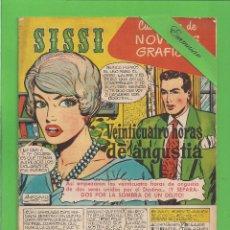 Tebeos: SISSI - Nº 25 - NOVELAS GRÁFICAS - 24 HORAS DE ANGUSTIA - (1959) - AL DORSO MONTGOMERY CLIFT.. Lote 175509213