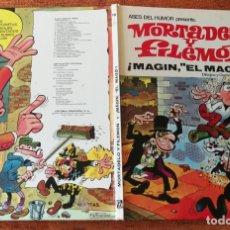 Tebeos: ASES DEL HUMOR BRUGUERA 2ª EDICIÓN - Nº 12 - MAGÍN EL MAGO - BUENO. Lote 175511613