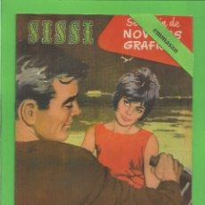 BDs: SISSI - Nº 107 - NOVELAS GRÁFICAS - FELIZ ENGAÑO - (1961) - AL DORSO ROCK HUDSON.. Lote 175519300