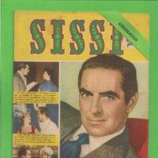 Livros de Banda Desenhada: SISSI - Nº 6 - LA FULGURANTE VIDA DE TYRONE POWER - BRUGUERA. (1958).. Lote 175522963