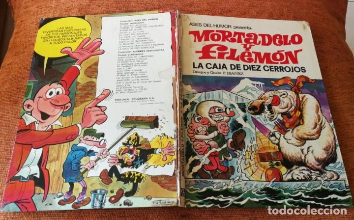 ASES DEL HUMOR BRUGUERA 1ª EDICIÓN - Nº 11 - LA CAJA DE DIEZ CERROJOS - SALDO (Tebeos y Comics - Bruguera - Mortadelo)