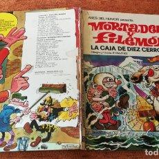 Tebeos: ASES DEL HUMOR BRUGUERA 1ª EDICIÓN - Nº 11 - LA CAJA DE DIEZ CERROJOS - SALDO. Lote 175533509