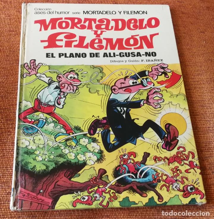 ASES DEL HUMOR BRUGUERA 1ª EDICIÓN - Nº 32 - EL PLANO DE ALI GUSA NO - SALDO (Tebeos y Comics - Bruguera - Mortadelo)