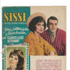 Tebeos: SISSI, ALMANAQUE PARA 1962 ES ORIGINAL, ESTE TEBEO ESTA RELACIONADO CON EL CINE EDITORIAL BRUGUERA. Lote 175569287