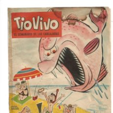 Tebeos: TIO VIVO, EXTRA DE VERANO DE 1961 ES ORIGINAL DIBUJANTES F. IBAÑEZ, PEÑARROYA ENRICH, CIFRE, ESCOBAR. Lote 175615615