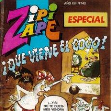 Tebeos: TEBEO DE SUPER ZIPI ZAPE ESPECIAL AÑO XIII NUMERO 142. Lote 175646360