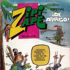 Tebeos: TEBEO DE ZIPI ZAPE ESPECIAL SUPER AÑO XIV NUMERO 146. Lote 175646525