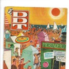 Tebeos: EL DDT, EXTRA DE VERANO AÑO 1960 ES ORIGINAL DIBUJANTES F. IBAÑEZ, PEÑARROYA, M. VÁZQUEZ, CIFRE,. Lote 175647142