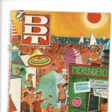 Tebeos: EL DDT, EXTRA DE VERANO AÑO 1960 ES ORIGINAL DIBUJANTES F. IBAÑEZ, PEÑARROYA, M. VÁZQUEZ, CIFRE,. Lote 175648555