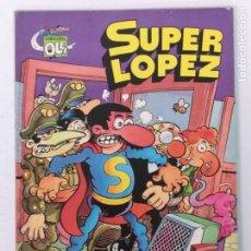 Tebeos: SUPER LÓPEZ BRUGUERA 1°EDICION N°4. Lote 175677435